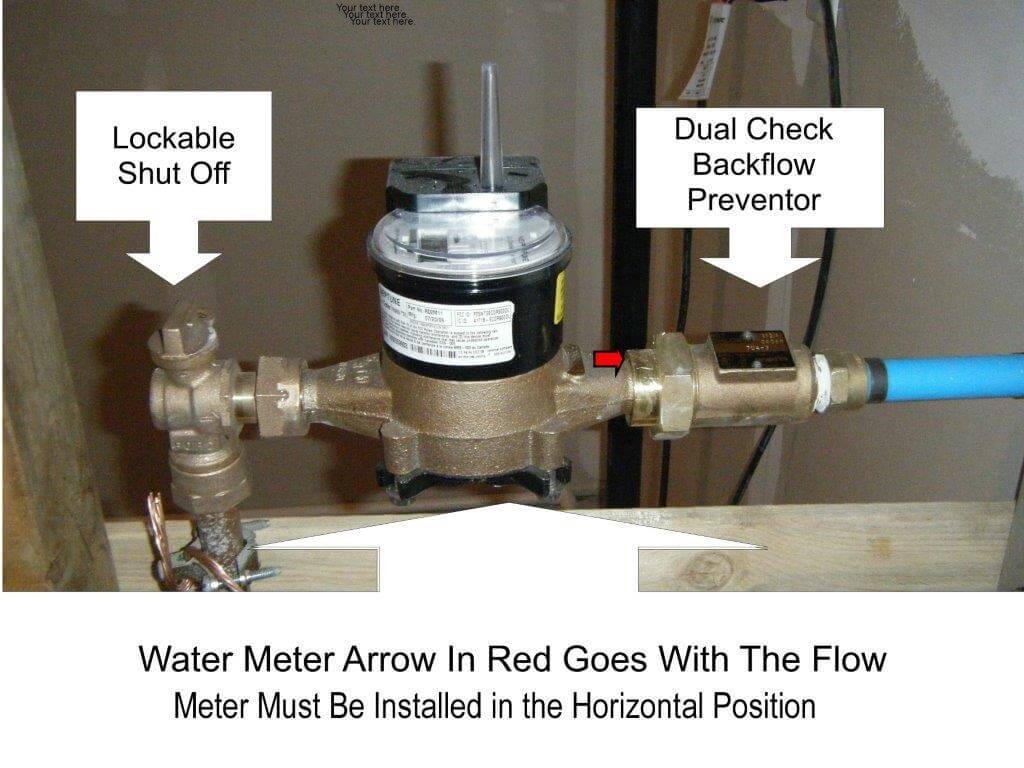 Water Meter Installation Example Compressed
