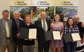 St. Michael Catholic High School Recipients with Mayor Gordon & Council