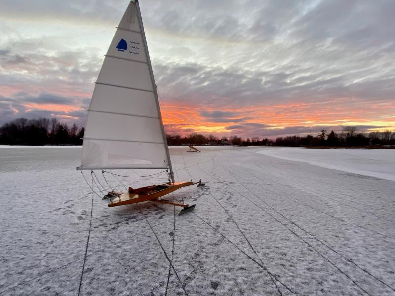 Active Living Category: Runner Up -Boat on Ice- by Barbara Gour