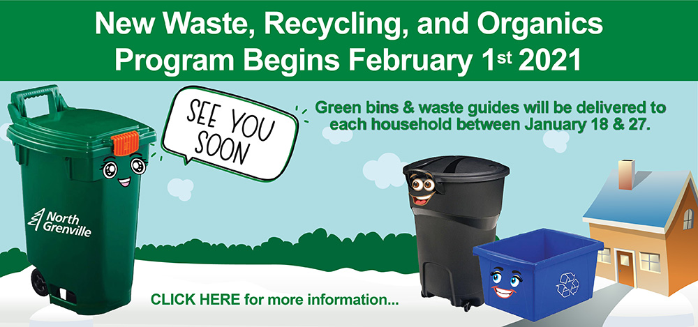 New Waste, Recycling and Organics Program