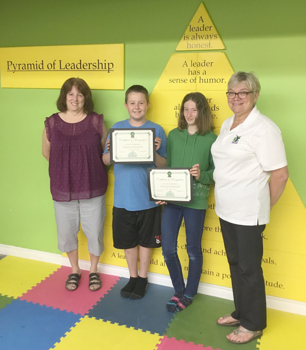 North Grenville Police Services Board Celebrates Youth Awards at the Kemptville Youth Centre