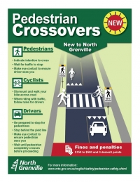 New to North Grenville: Pedestrian Crossovers