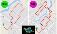 Notice: Temporary Road Closures in Downtown Kemptville for Neon Night for Childhood Cancer Event