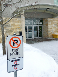 Changes to Regulations Mean No Smoking within 20 metres of Municipal Centre property